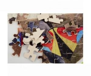 兒童卡通紙板玩具布藝拼圖定制