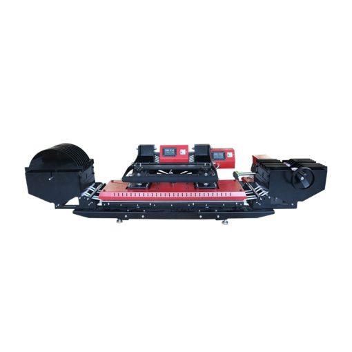 LZP-40-DH 帶有送料裝置的雙熱板織帶熱轉印機