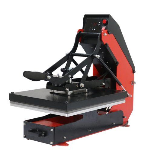 簡單的SENKO自動開式熱轉印機,帶滑出式熱轉印機