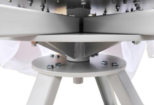 手動6色6工位網版印刷機,帶微套準
