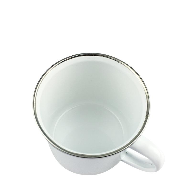 12oz 昇華塗層細搪瓷杯